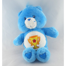Peluche Bisounours bleu Groschampion coupe CARE BEARS 36 cm