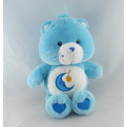 Peluche Bisounours bleu Grosdodo lune étoile CARE BEARS