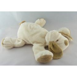 Doudou chien écru beige BABY NAT