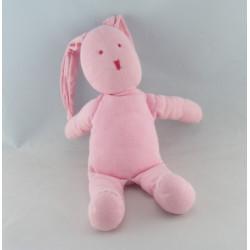Doudou lapin rose imprimé petite chinoise PETIT BATEAU