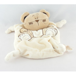 Doudou semi plat ours beige TIAMO COLLECTION