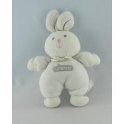 Doudou lapin blanc Luminou JEMINI
