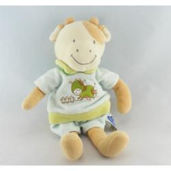 Doudou Vache Habillé - Mots d'Enfants