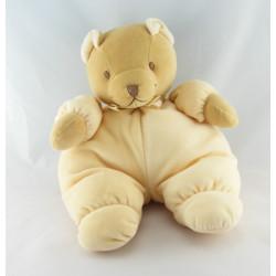 Doudou ours beige jaune NOUKIE'S