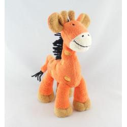 Doudou Girafe orange NICOTOY