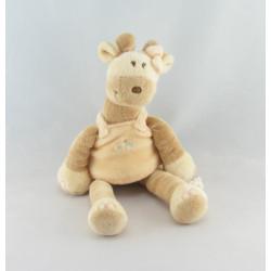 Grand doudou girafe capucine NOUKIE'S