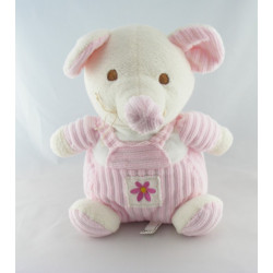 Doudou lapin rose CP INTERNATIONAL