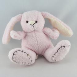 Doudou lapin boule blanc rose CMP