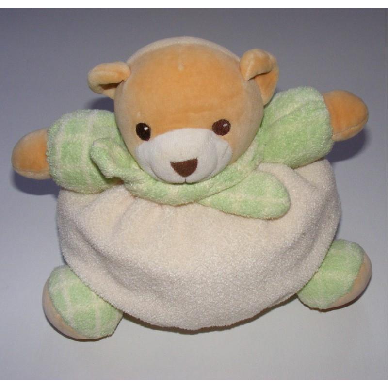 Doudou ours éponge  Nounours