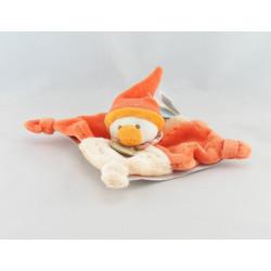 Doudou et compagnie plat canard orange Gédéon