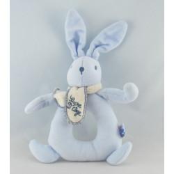 Doudou Lapin bleu Sucre d'Orge