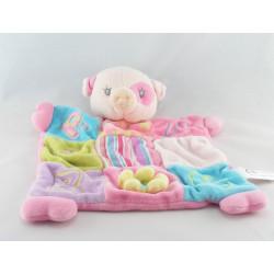 Doudou cochon rose Pig EDL