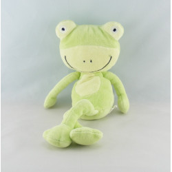 Doudou grenouille verte