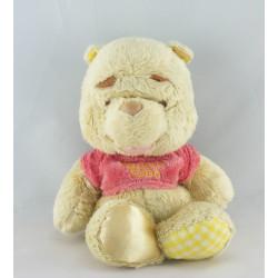 Doudou Winnie l'ourson satin DISNEY NICOTOY