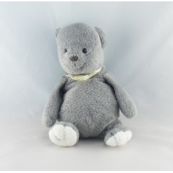 Doudou ours gris AJENA