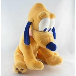 Peluche Chien Pluto Collier rose DISNEY
