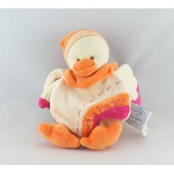 Doudou et compagnie livre Banjo l'oiseau orange rose