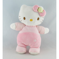 Doudou chat HELLO KITTY rose SANRIO LICENSE