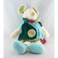 Doudou et compagnie souris verte Filousine cape