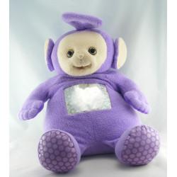 Doudou peluche TELETUBBIES violet Tinky Winky TOMY