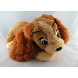 Peluche Belle le chien de La Belle et le Clochard Disney