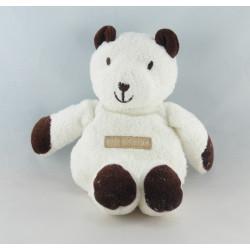 Doudou ours blanc SUCRE D'ORGE