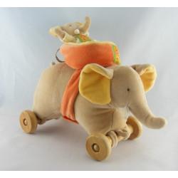 Doudou éléphant beige les Loustics MOULIN ROTY