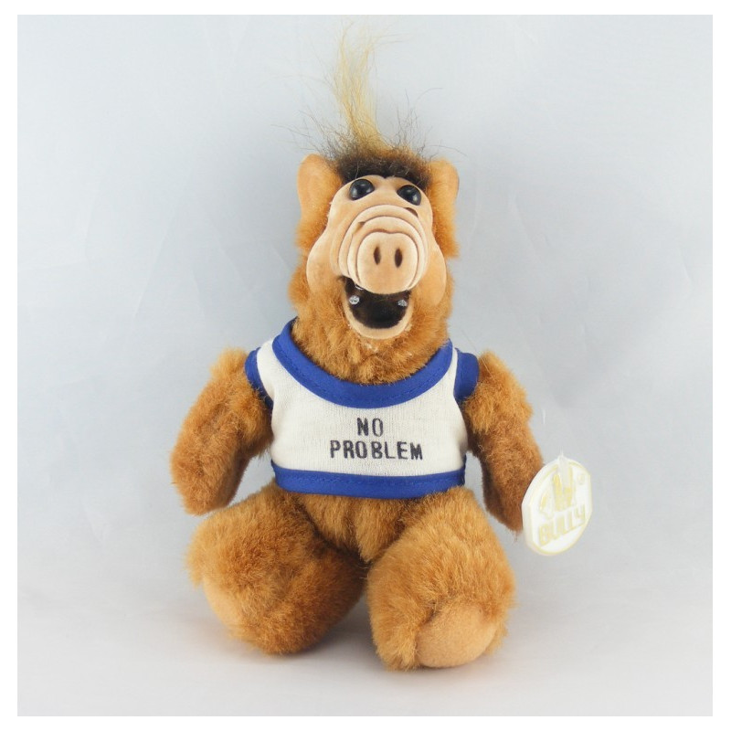 Ancienne Peluche Extra-terrestre ALF BULLY 1987 SUPER ALF