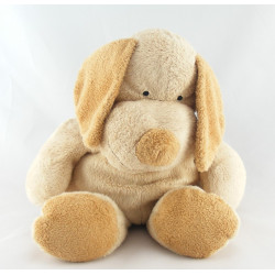 Doudou chien beige marron NICOTOY