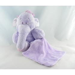 Doudou éléphant Lumpy avec mouchoir DISNEY NICOTOY