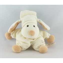 Doudou chien écru beige TIAMO COLLECTION