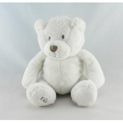 Doudou ours blanc OBAIBI