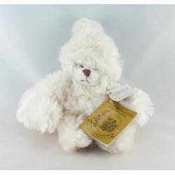 Doudou ours rose Mathilda avec bébé BUKOWSKI