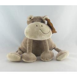 Doudou hippopotame marron TOYS R US