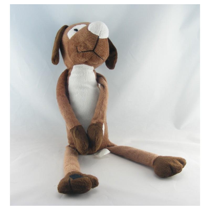 Doudou chien marron HAPPY HORSE