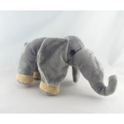 Doudou éléphant gris bleu OBAIBI