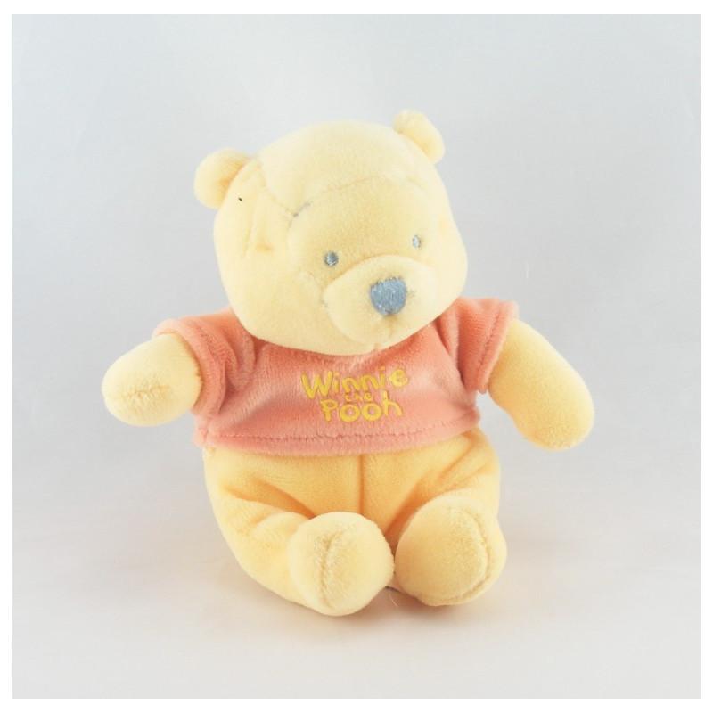 Doudou Winnie l'ourson DISNEY NICOTOY 17 cm