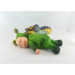 Poupée papillon vert ANNE GEDDES 23 cm