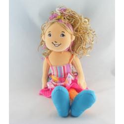 Doudou Poupées Bleue Baby Hansel 2001