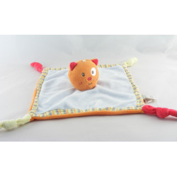 Doudou plat chat orange MERCEDES BENZ