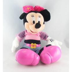 Doudou Minnie l'amie de Mickey robe bleu DISNEY