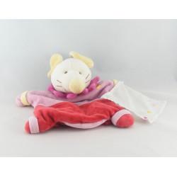 Doudou plat marionnette souris Rosie adore danser BABY NAT
