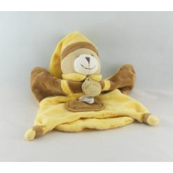 Doudou et compagnie marionnette ours marron bébé