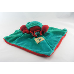 Doudou plat souris rouge Lilou MRSA