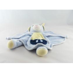 Doudou souris bleu Cerise NOUNOURS 48 CM