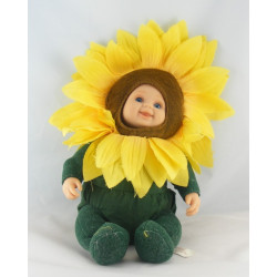 Poupée Tournesol fleur ANNE GEDDES 30 cm