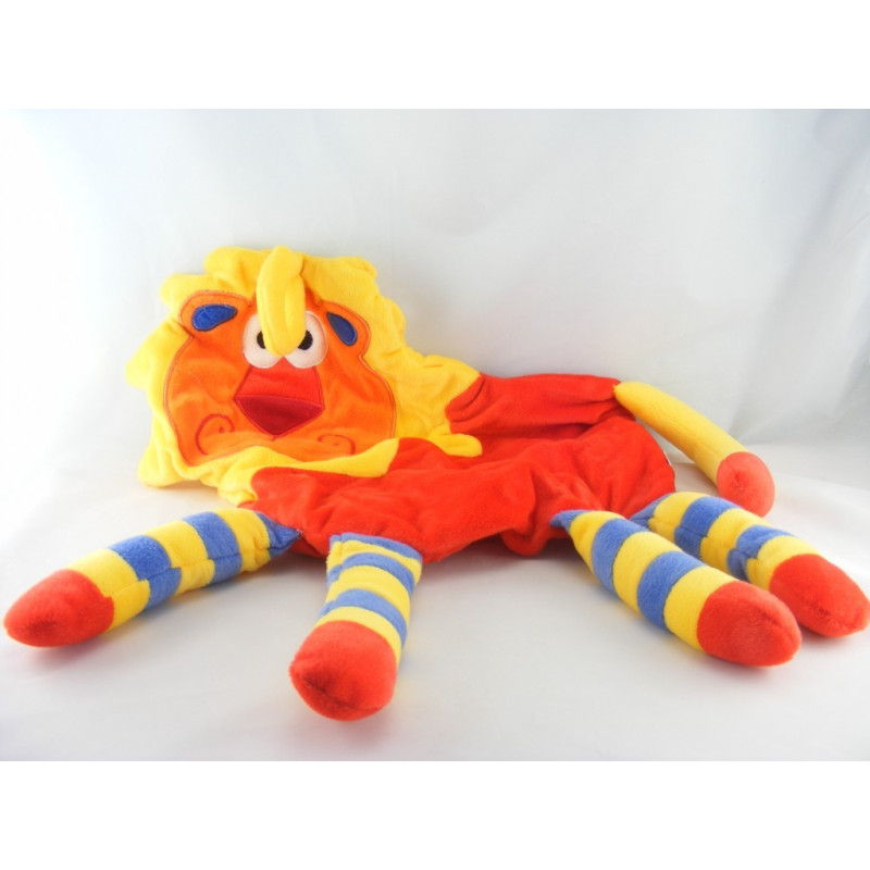 Doudou range pyjama lion multicolore CP INTERNATIONAL