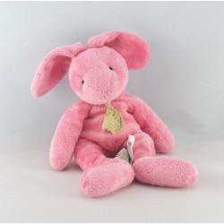 Doudou lapin rose BABY NAT
