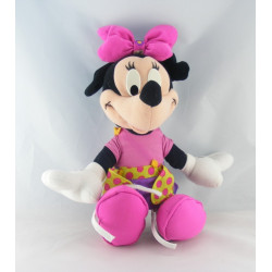 Peluche Minnie robe rose à pois DISNEY NICOTOY