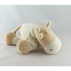 Doudou vache blanc beige DODO D'AMOUR MGM